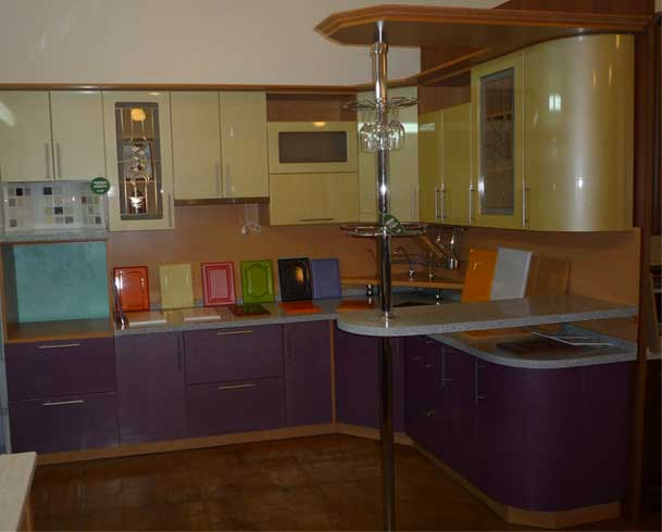Кухня пленка мдф цвета