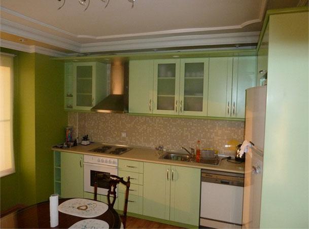Кухни однако кухни салатового цвета